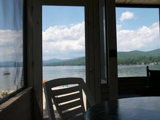 Porch on Newfound Lake
