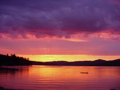 Newfound Lake Sunsets